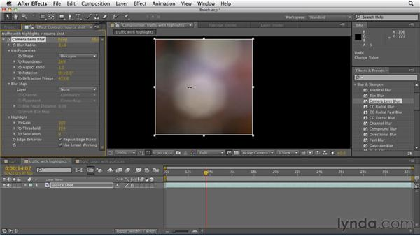 Recreating bokeh blur artifacts: After Effects CS5.5 New Features