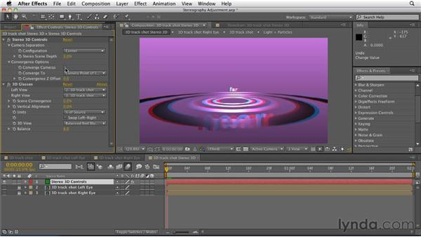 Fine-tuning a stereo 3D scene: After Effects CS5.5 New Features