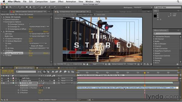 Working with live action 3D footage: After Effects CS5.5 New Features
