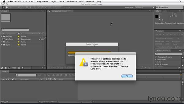 Saving a project as a CS5 file (backward compatibility): After Effects CS5.5 New Features