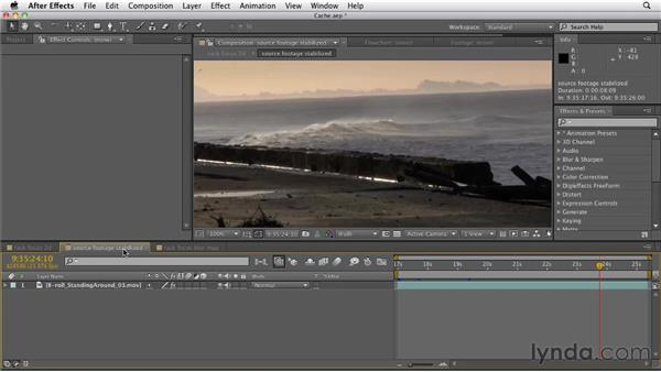 Saving preview time using disk caching: After Effects CS5.5 New Features