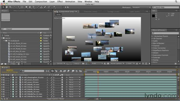 Using the improved search options: After Effects CS5.5 New Features