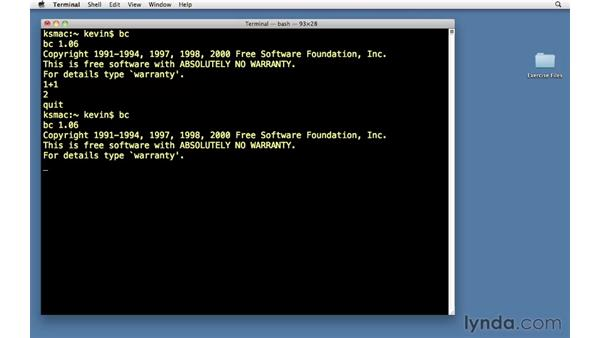 Introduction: Unix for Mac OS X Users