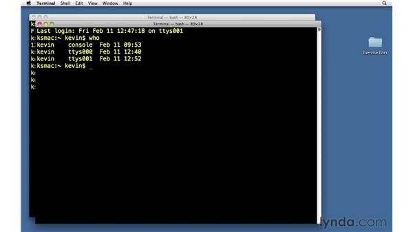 System information commands: Unix for Mac OS X Users