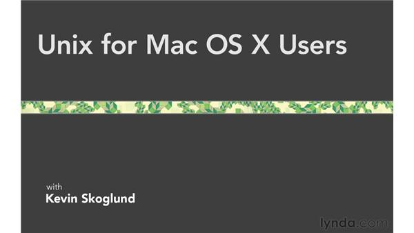 Conclusion: Unix for Mac OS X Users
