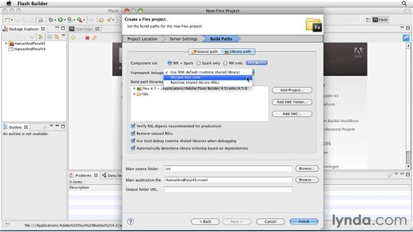Creating new Flex 4.5 projects: Flash Builder 4.5 and Flex 4.5 New Features