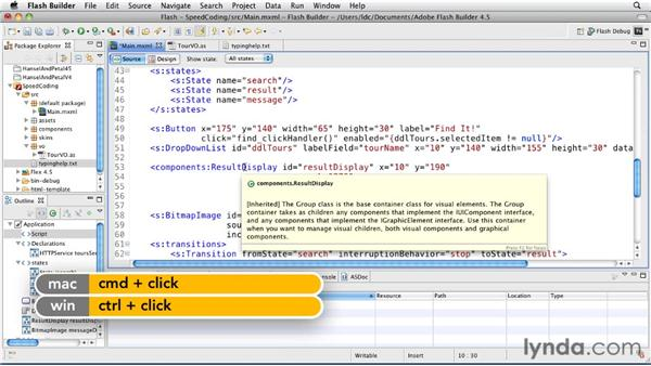 Speeding up coding with templates and Quick Assist: Flash Builder 4.5 and Flex 4.5 New Features