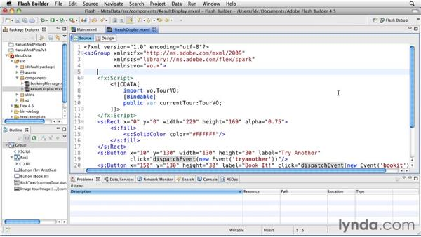 Using code completion for metadata tags and states: Flash Builder 4.5 and Flex 4.5 New Features