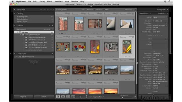 Understanding catalogs: Up and Running with Lightroom 3