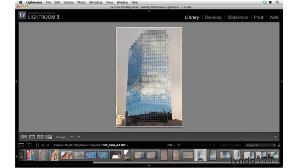 Rating photos: Up and Running with Lightroom 3