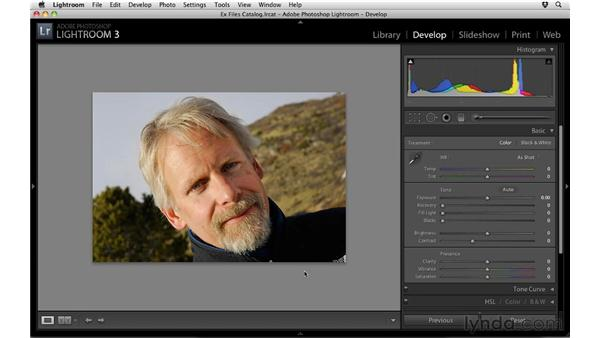 Setting Clarity and Vibrance: Up and Running with Lightroom 3