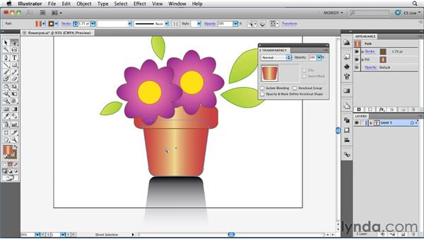 : Illustrator Insider Training: Seeing Through Transparency