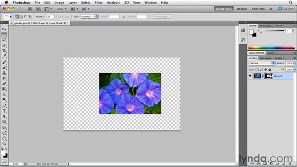 Learning from channels in Photoshop: Illustrator Insider Training: Seeing Through Transparency