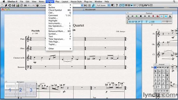 Understanding the menus: Sibelius 6 Essential Training