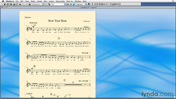 Printing: Sibelius 6 Essential Training