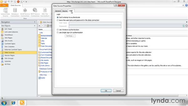 Reading data from a SOAP-based web service: SharePoint Designer 2010: Creating Data-Driven Web Pages