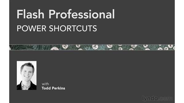 Welcome: Flash Professional Power Shortcuts
