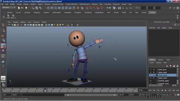 Animating a wave: Character Animation: Maya