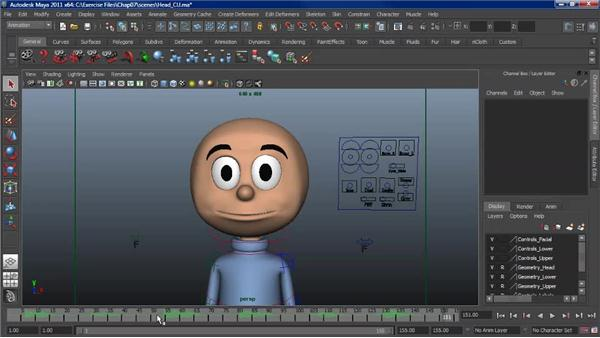 Working with audio: Character Animation: Maya