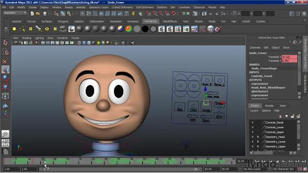Animating dialogue: Character Animation: Maya