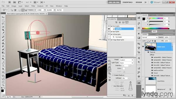 Welcome to One-on-One: Photoshop CS5 Extended One-on-One: 3D Scenes