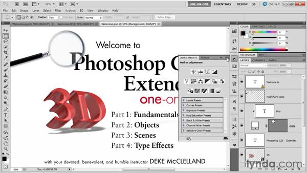 : Photoshop CS5 Extended One-on-One: 3D Scenes