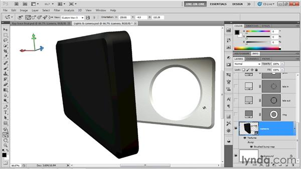 Taking the disciplined approach: Photoshop CS5 Extended One-on-One: 3D Scenes