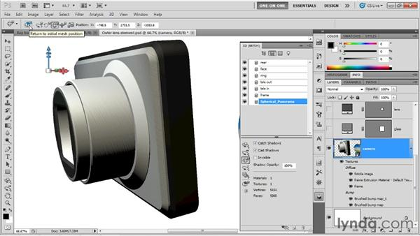 Mastering the spherical panorama: Photoshop CS5 Extended One-on-One: 3D Scenes