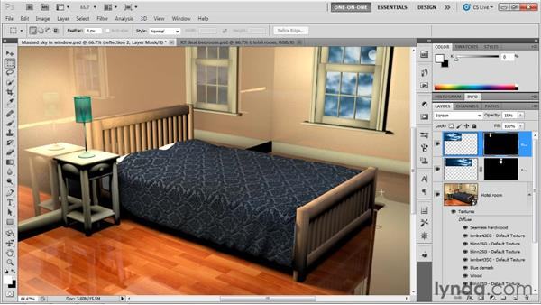 Resolving ray tracing mistakes: Photoshop CS5 Extended One-on-One: 3D Scenes