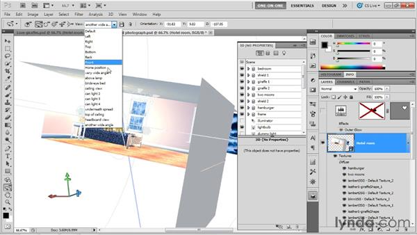 Creating a Repoussé picture frame: Photoshop CS5 Extended One-on-One: 3D Scenes