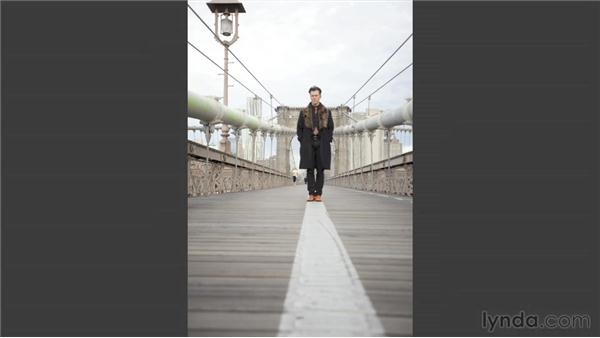 Reviewing the shoot and the shots: Narrative Portraiture: On Location in New York City