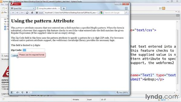 Welcome: HTML5: Web Forms in Depth