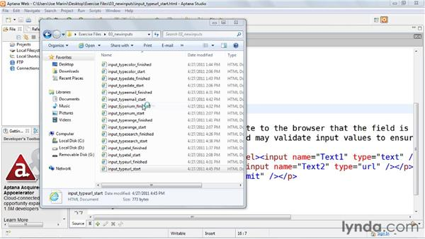 Building a web address field: HTML5: Web Forms in Depth