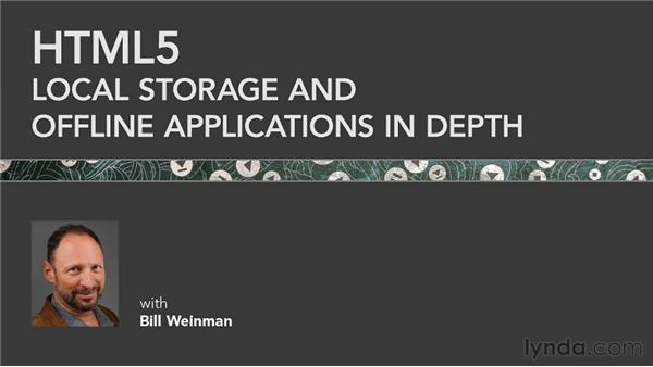Goodbye: HTML5: Local Storage and Offline Applications in Depth