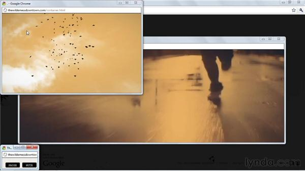 Real-world example: The Wilderness Downtown: HTML5: Graphics and Animation with Canvas