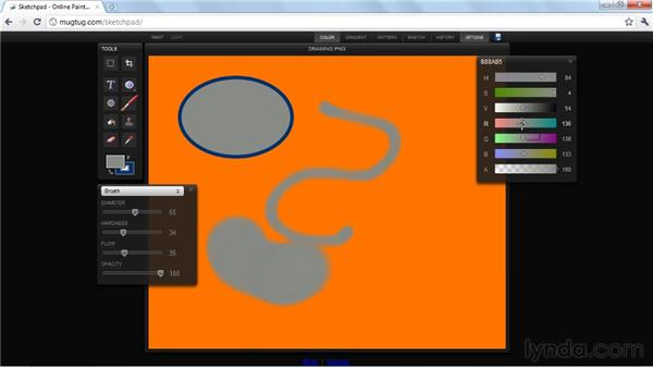 Real-world example: Sketchpad: HTML5: Graphics and Animation with Canvas