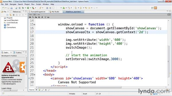 : HTML5: Graphics and Animation with Canvas