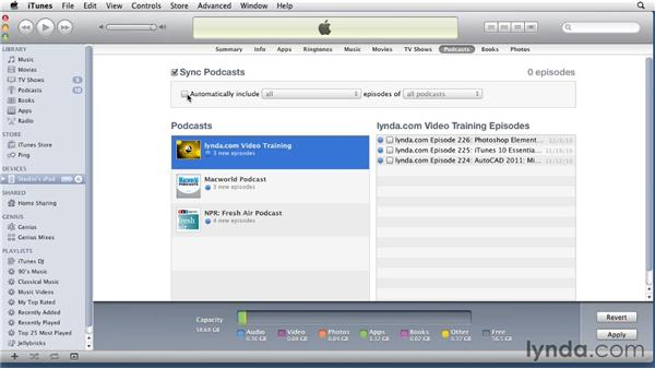 Syncing media files to the iPad: iPad Tips and Tricks (2010)