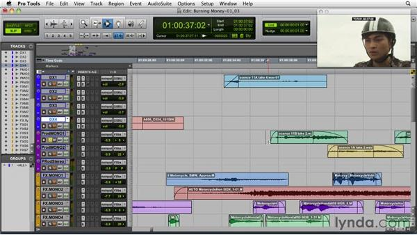 Understanding the audio components of a finished video: Audio for Film and Video with Pro Tools