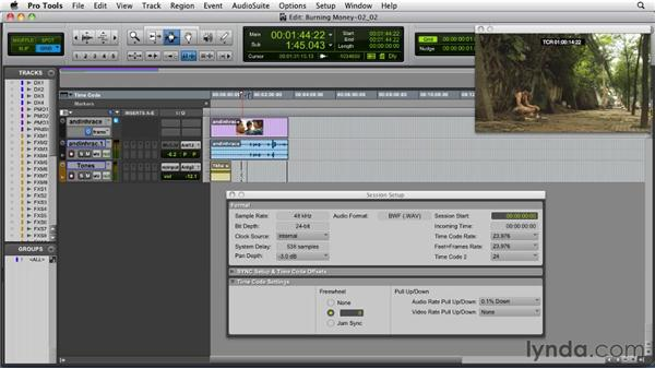 Understanding video formats, codecs, and pull-up/pull-down: Audio for Film and Video with Pro Tools