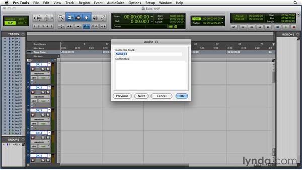 Setting up your Pro Tools session for video: Audio for Film and Video with Pro Tools