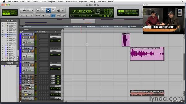 Optimizing the dialog in the first pass: Audio for Film and Video with Pro Tools
