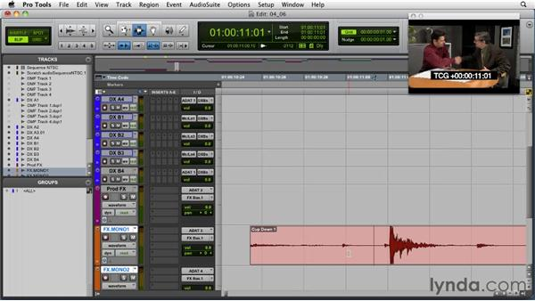 Sweetening and hard effects: Audio for Film and Video with Pro Tools