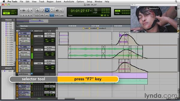 Processing tips for sound effects: Audio for Film and Video with Pro Tools