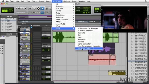 Recording ADR and editing with VocALign LE: Audio for Film and Video with Pro Tools