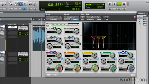 Noise-reducing hums, rumbles, and buzzes: Audio for Film and Video with Pro Tools