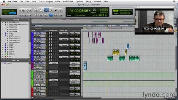 Setting up for stereo mixing: Audio for Film and Video with Pro Tools
