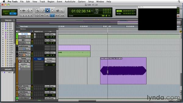 Calibrating levels using an SPL meter: Audio for Film and Video with Pro Tools