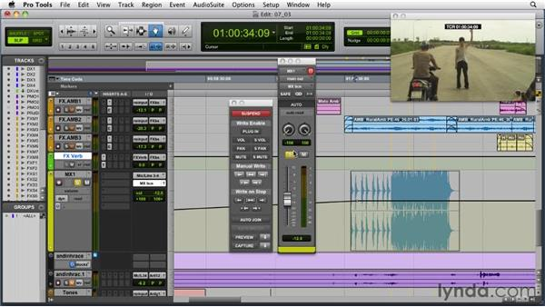 Mixing with automation: Audio for Film and Video with Pro Tools