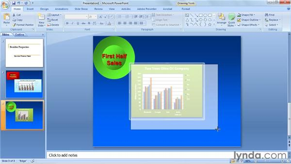 Copying and linking charts with Word and PowerPoint: Excel 2010: Charts in Depth